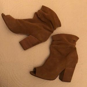 Chinese Laundry Suede Slouch Break Up Bootie